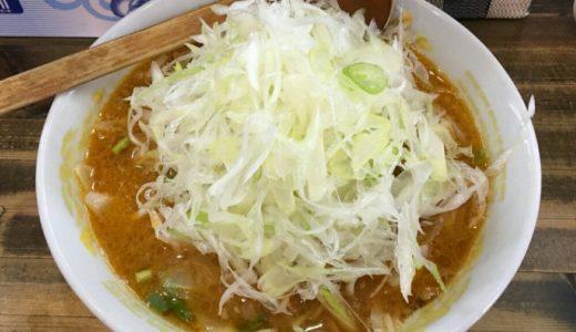 ラーメン日記|らー麺味噌やすのコク味噌ネギラーメンとサービスの半ライス