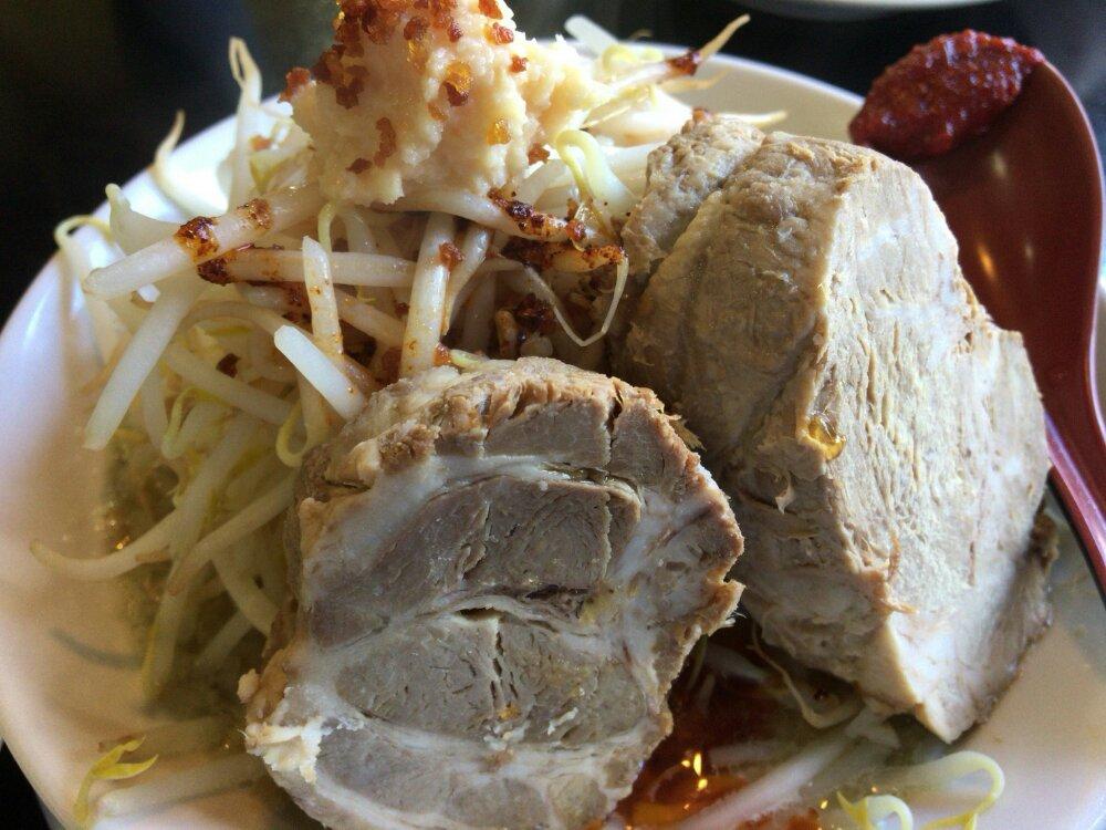ニラなんばんラーメン 香麺のG系豪麺