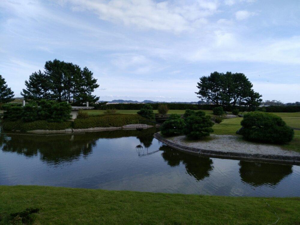 松島町 一の坊 水上庭園