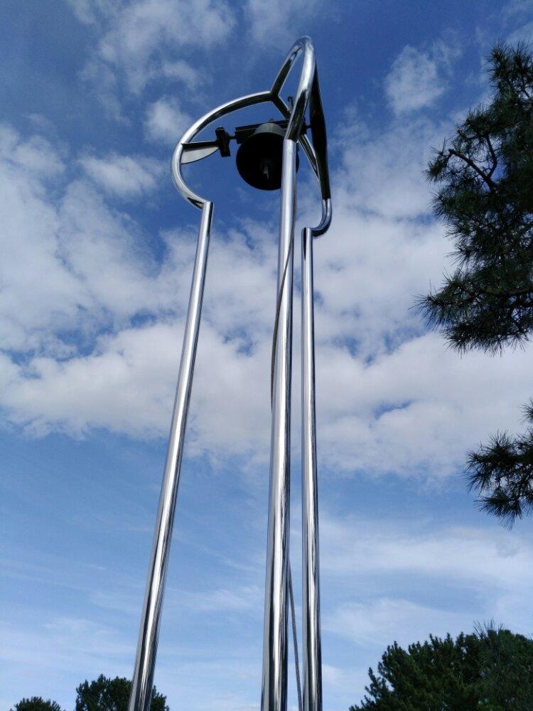 松島町 一の坊 水上庭園の鐘