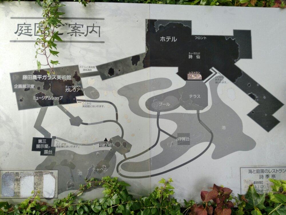 松島町 一の坊 水上庭園のマップ