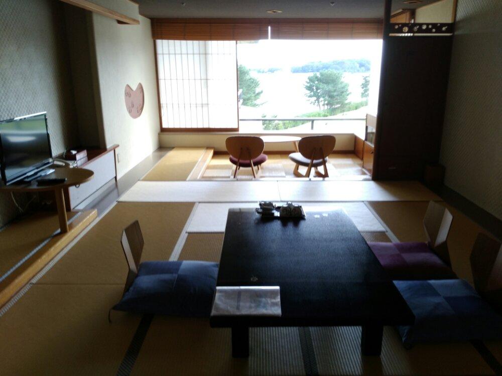 松島温泉 湯元一の坊の部屋