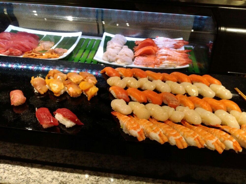 松島湯元一の坊のお寿司