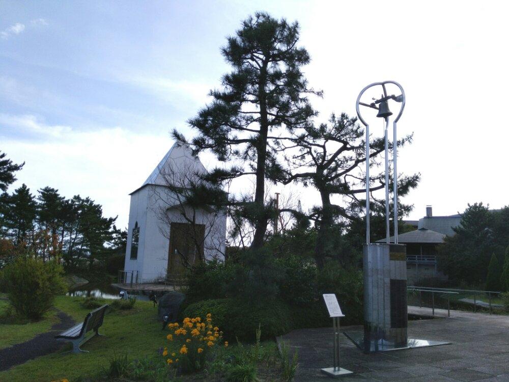 松島町 一の坊 水上庭園のチャペル