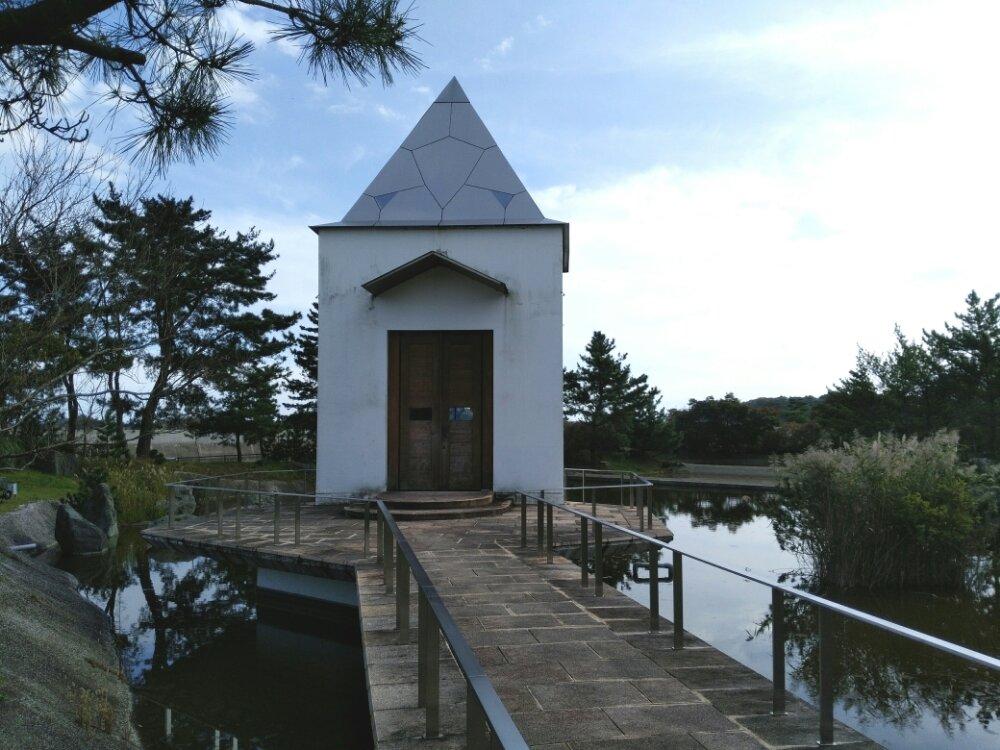 松島町 一の坊 水上庭園 ガラスのチャペル