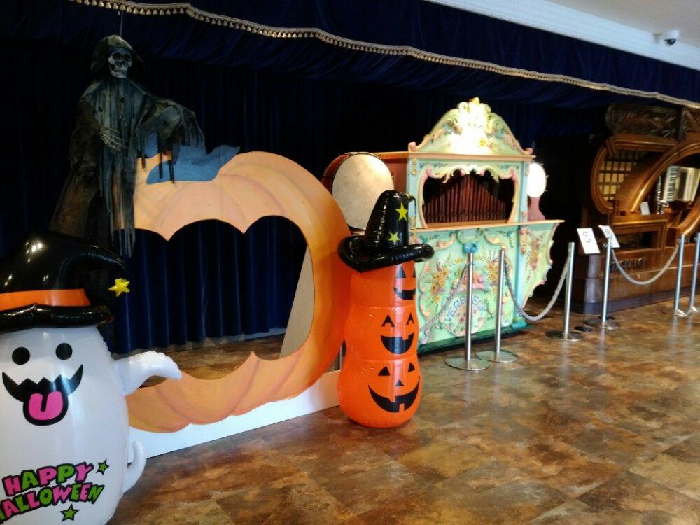 ハロウィーン使用の松島オルゴール博物館