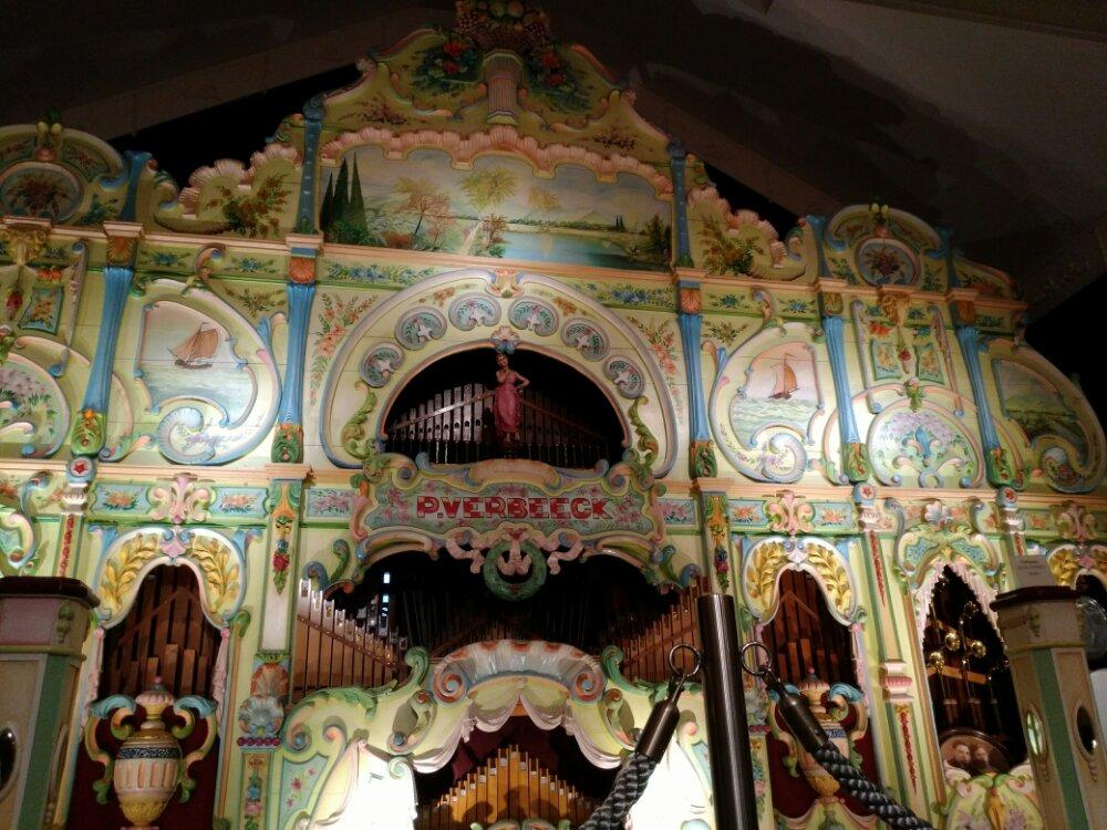 ベルギーコンサートオルガン ベルベック