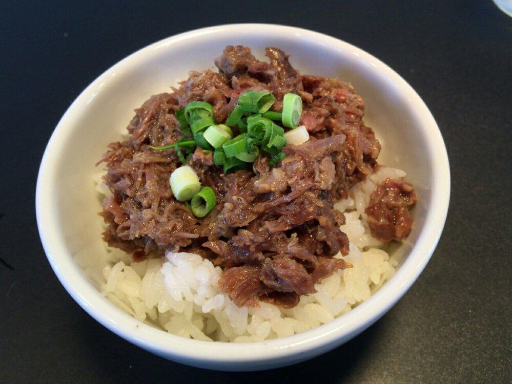 麺牛ひろせ 牛スジご飯