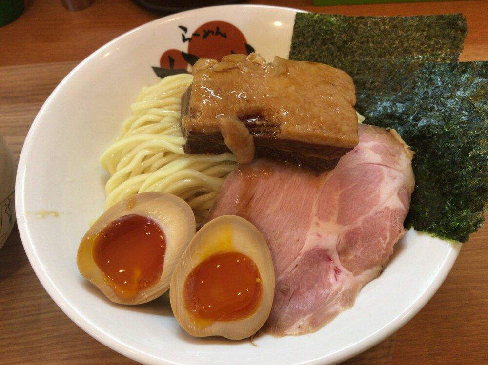 かいじの濃厚魚介つけ麺