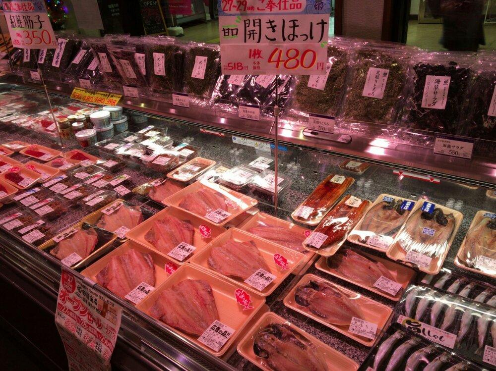 田清魚店 塩竈店の鮮魚
