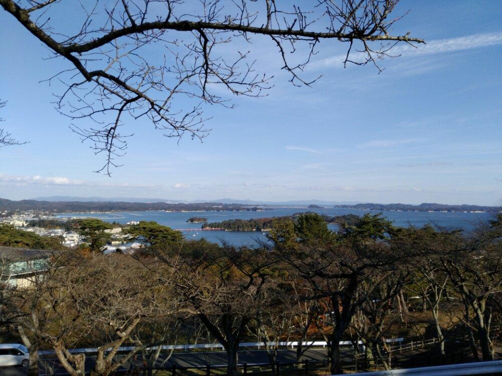 白衣観音展望台からの景色