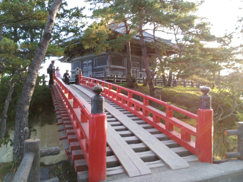 松島五大堂と透橋