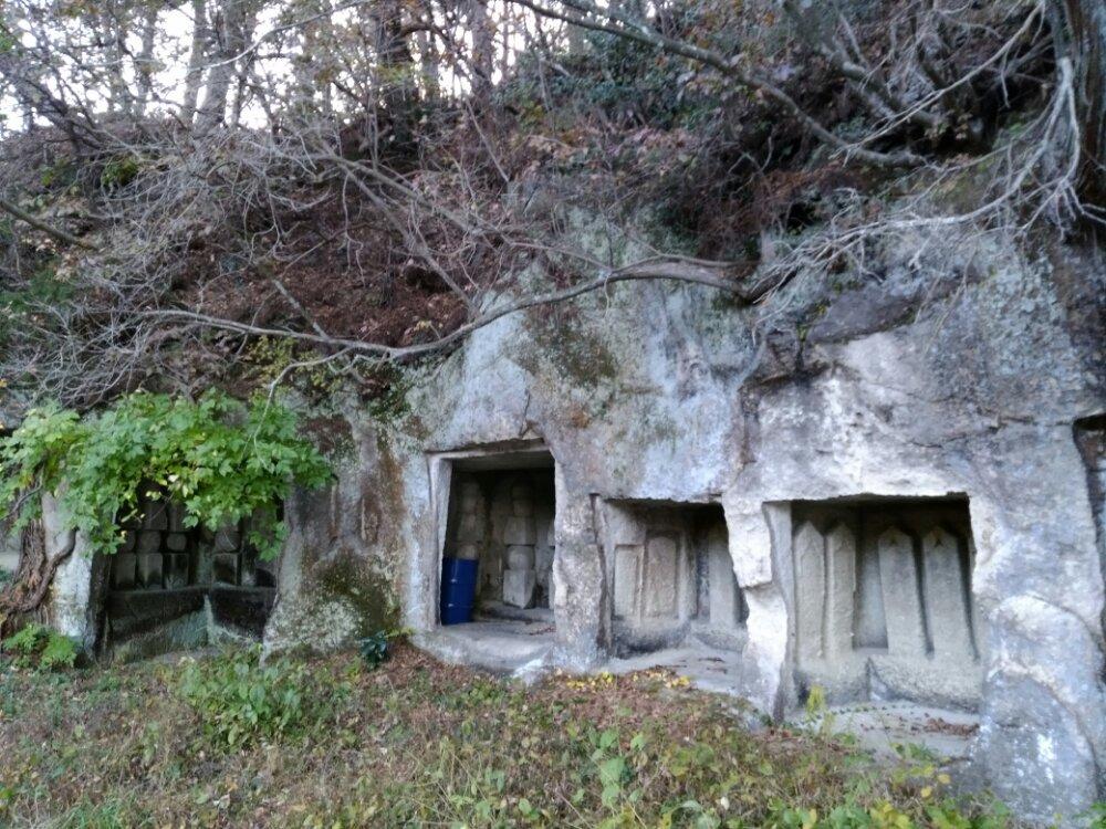 松島町雄島の洞窟群