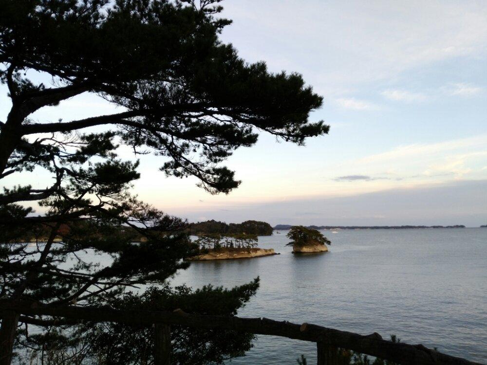 雄島から見る松島湾