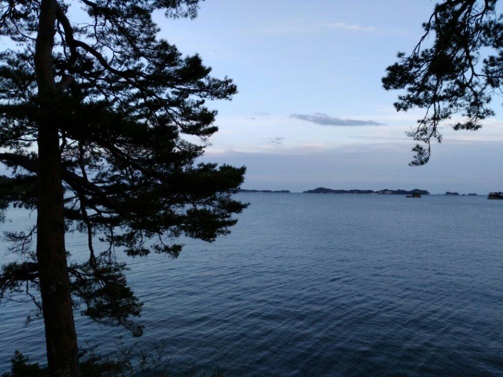 夕方の松島湾