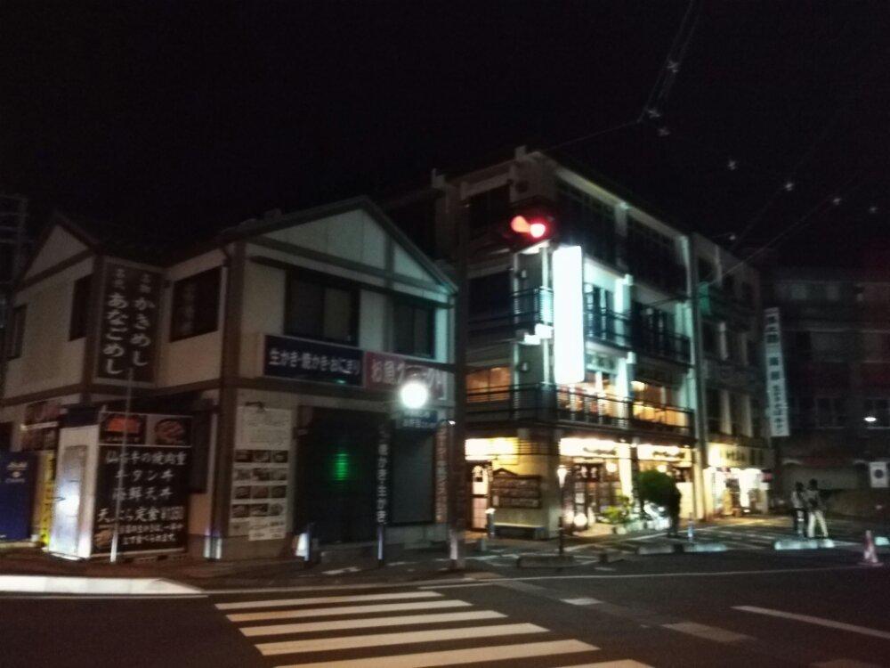 夜の松島商店街