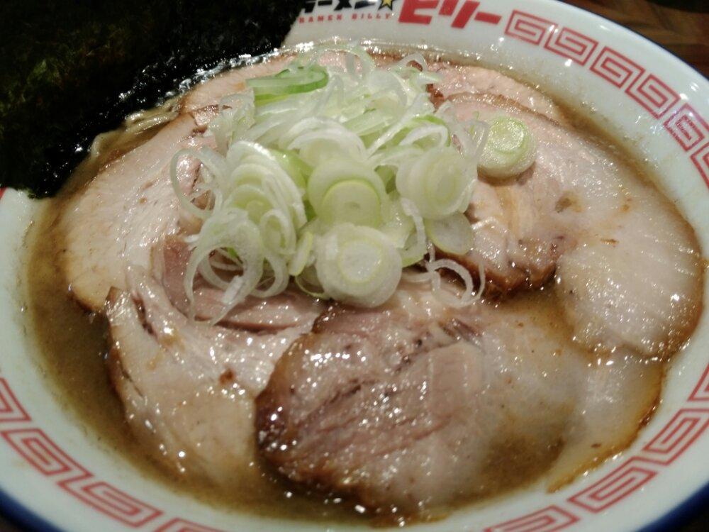 ラーメンビリーR45多賀城店のチャーシューたっぷり肉そば