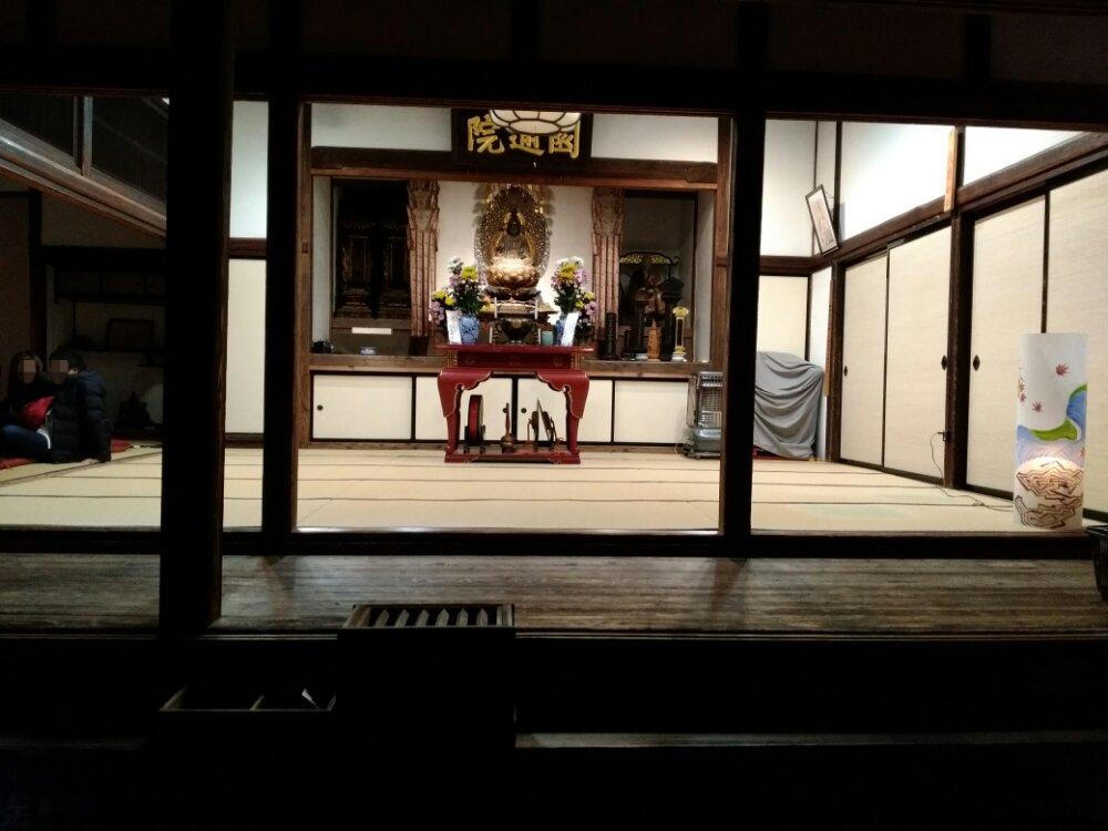 円通院本堂の大悲亭