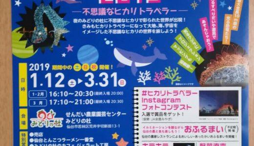 仙台のイルミネーション情報|みどりの杜ファンタジーナイト2019